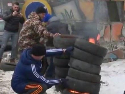 Владельцы автомобилей блокируют въезды встолицу Украины